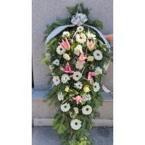 Coroana funerara Stropi de culoare
