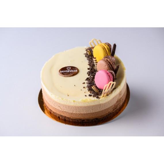Tort Trois Chocolates