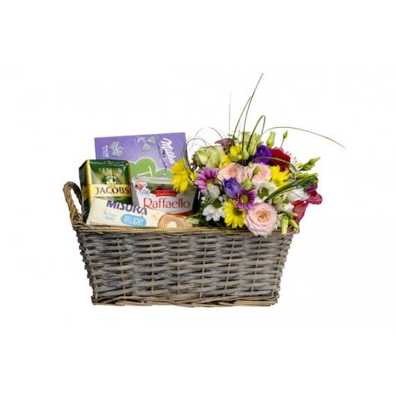 Cosulet Surpriza cu Flori Colorate