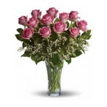 13 Petale roz