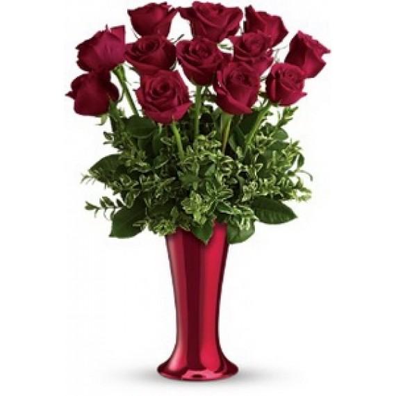 Buchet de 13 Trandafiri
