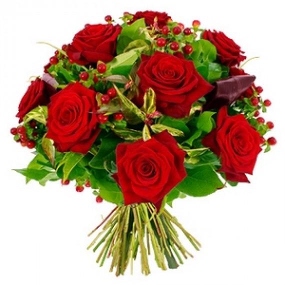 Buchet cu Trandafiri rosii