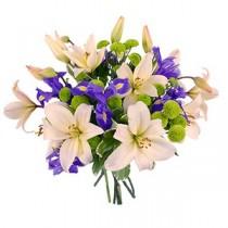 Buchet cu Crini si Irisi