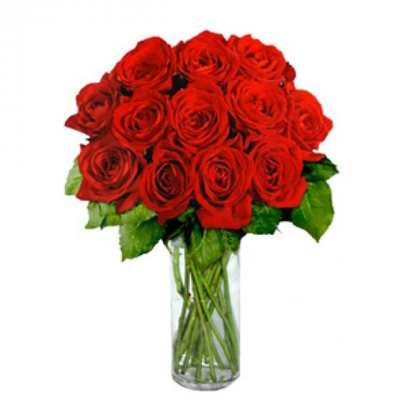 19 Trandafiri buchet