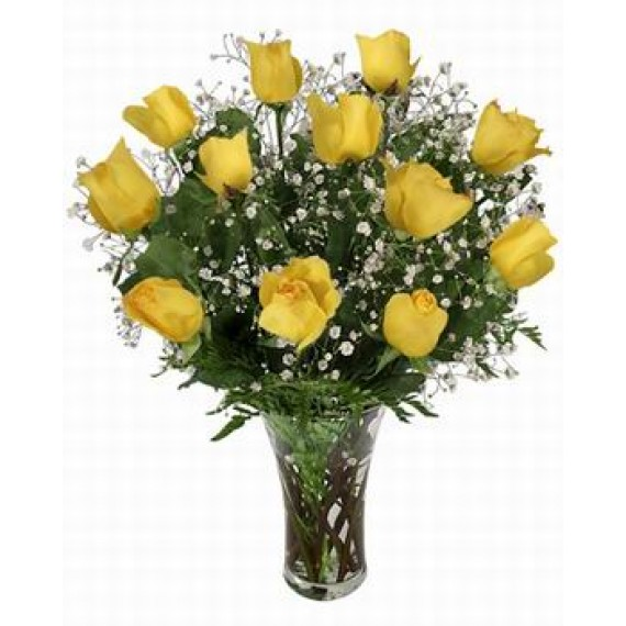 Buchet Yellow Roses